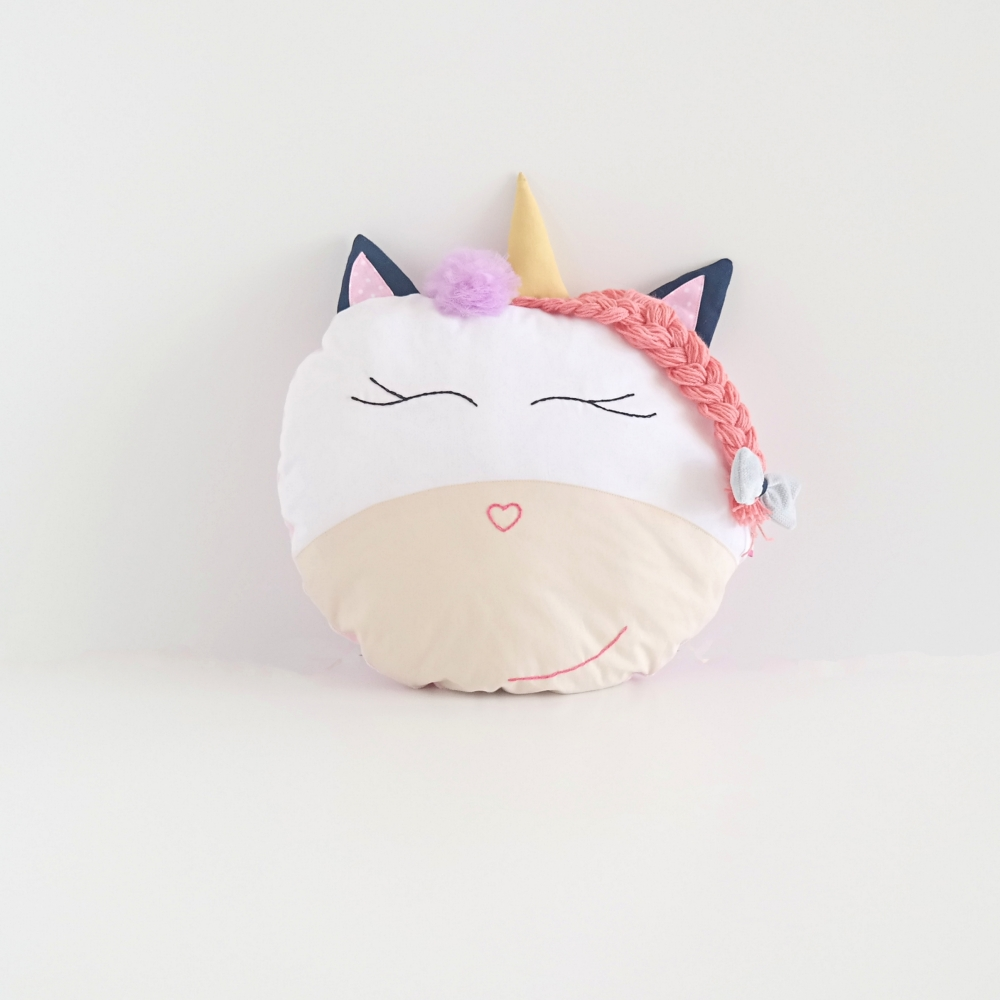 Jednorożec przytulanka poduszka dla dziewczynki