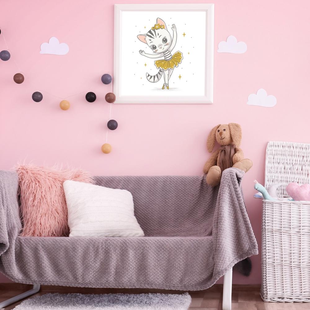 obraz na płótnie w pokoju dziecięcym
