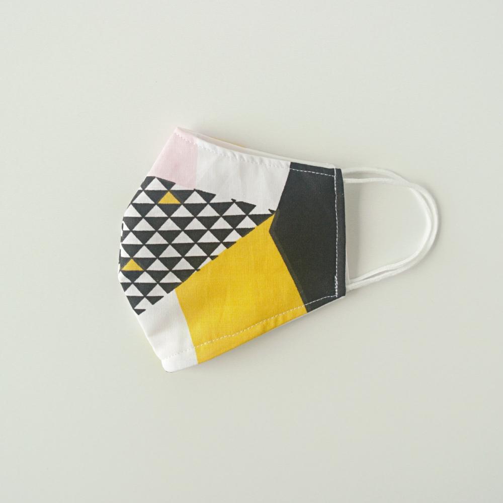 maseczka higieniczna z gumkami kolorowa